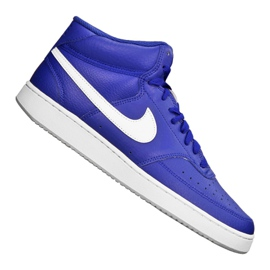 Nike Court Vision Mid M CD5466-400 shoes blue