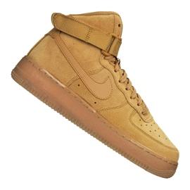 Nike Air Force 1 High LV8 Gs Jr CK0262-700 shoes brown