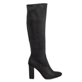 Elegant VINCEZA boots black