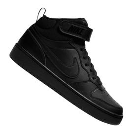 Nike Jr Court Borough Mid 2 (GS) Jr CD7782-001 shoes black