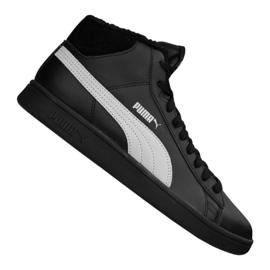 Puma Smash V2 Mid L Fur Jr 366895-05 shoes black
