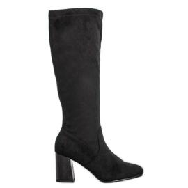 Filippo Elegant Suede Boots black