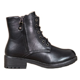 J. Star Classic Eco Leather Trappers black