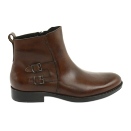 Moskała leather boots brown
