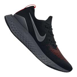 Nike Epic React Flyknit 2 M CJ9695-001 shoes black