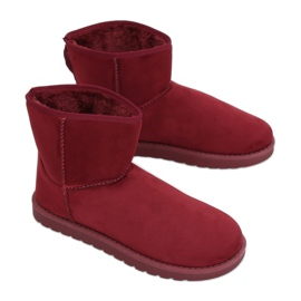 Snow boots emusy claret C-08 Ed red