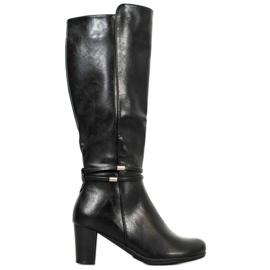 Filippo Warm Black Boots