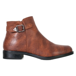 Small Swan Classic Low Boots brown