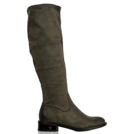 Suede Boots VINCEZA green