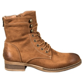 Goodin Elegant Suede Trappers brown