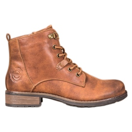 Goodin Elegant Eco Leather Trappers brown