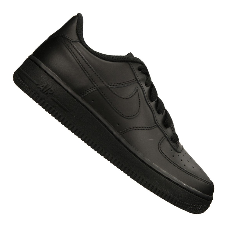 Nike Air Force 1 Gs Jr 314192-009 shoes black