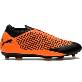 M Puma Future 2.4 Fg Ag 104839 02 football boots orange black, orange