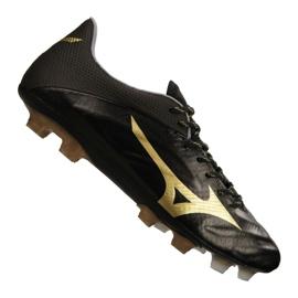 Mizuno Rebula 2 V1 Football Boots Made in Japan Fg P1GA187-950 black black, gold