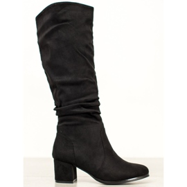 Wilady Classic Suede Boots black