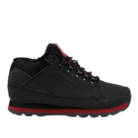 Black insulated snow boots 9WH917