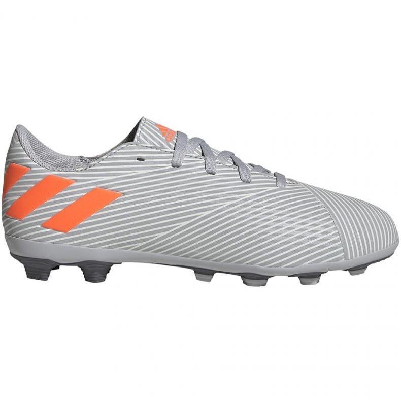 Adidas Nemeziz 19.4 FxG Jr EF8305 football shoes multicolored grey