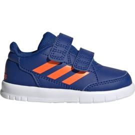 Adidas AltaSport Cf I Jr G27108 shoes blue