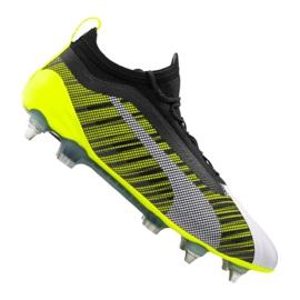 Puma One 5.1 Mx Sg Fg M 105615-02 football boots white, black, yellow multicolored