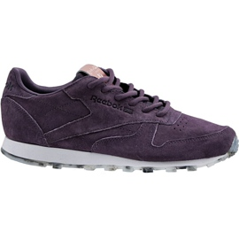 Reebok Classic Leather Shimmer W BD1520 shoes violet