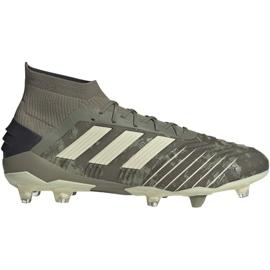 Adidas Predator 19.1 Fg M EF8205 football shoes grey grey
