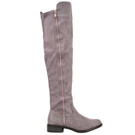 Seastar Gray Boots With Slider grey