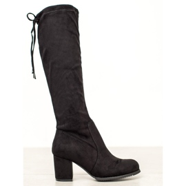 J. Star Classic Suede Boots black