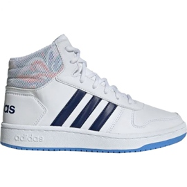 Adidas Hoops Mid 2.0 Jr EE8546 shoes white