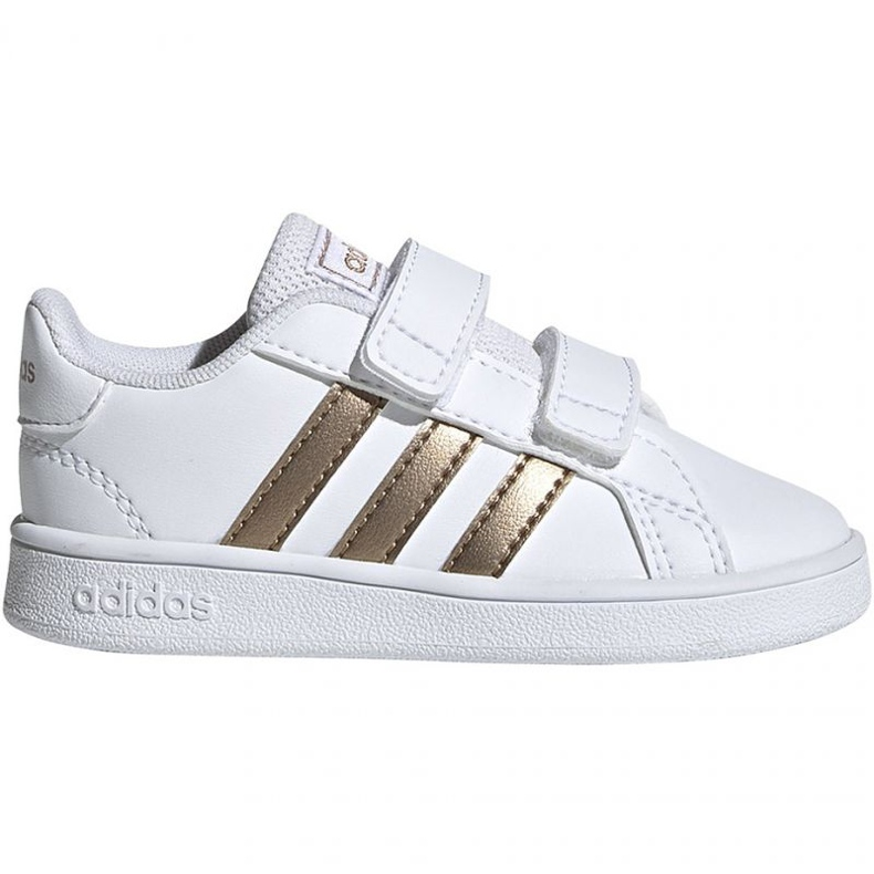 Adidas Grand Court I Jr EF0116 shoes white