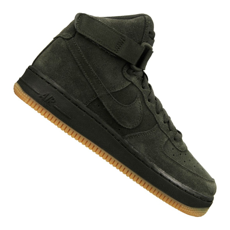 Nike Air Force 1 High Lv 8 Gs Jr 807617-300 shoes green