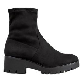 SHELOVET Black Boots On The Platform