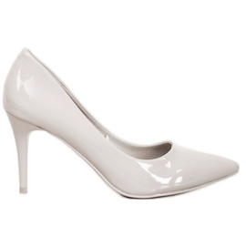 Kylie Classic Pumps With Eco Leather grey