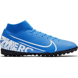 Nike Mercurial Superfly 7 Academy M Tf AT7978 414 football shoes blue multicolored