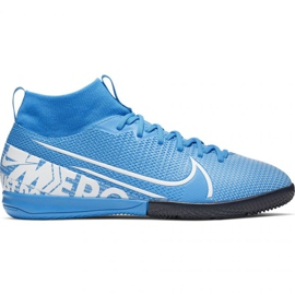 Nike Mercurial Superfly 7 Academy Ic Jr AT8135 414 football shoes blue multicolored