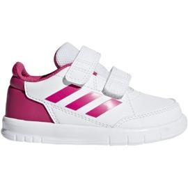 Adidas Altasport Cf I Jr D96846 shoes white violet