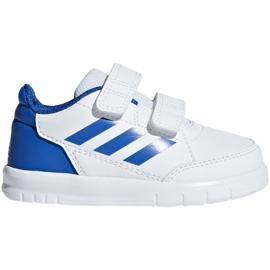 Adidas AltaSport Cf I Jr D96844 shoes white blue