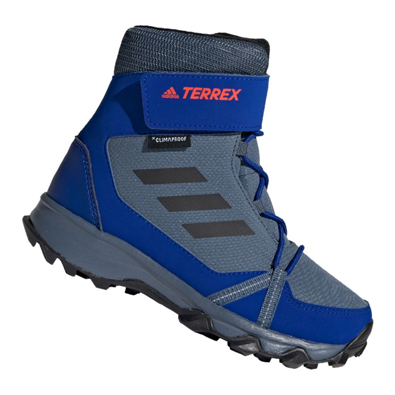 Adidas Terrex Snow Cf Cp Cw Jr G26579 shoes blue multicolored