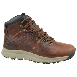Timberland World Hiker Mid M A213Q shoes brown