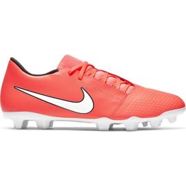 Nike Phantom Venom Club Fg M AO0577 810 football shoes white, orange orange
