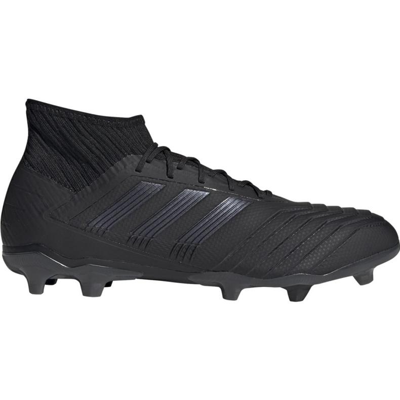 Adidas Predator 19.2 Fg M F35603 football shoes black black
