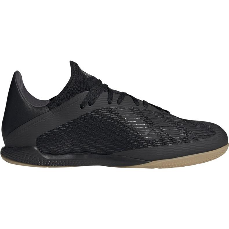 Adidas X 19.3 In M F35369 football shoes black black