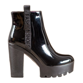 Seastar Lacquered Fashion Boots black