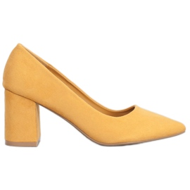Seastar Elegant pumps yellow