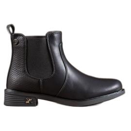 SHELOVET Jodhpur Boots With Eco Leather black