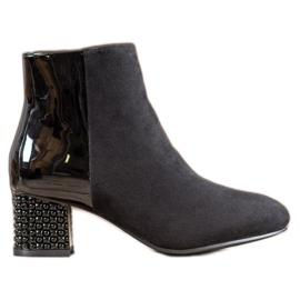 SHELOVET Fashionable Ankle Boots black