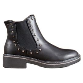 SHELOVET Boots with jets black