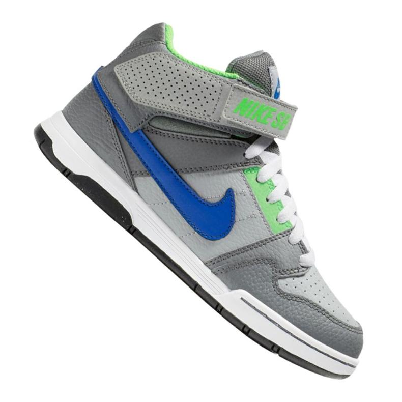 Nike Jr Sb Mogan Mid 2 Gs Jr 645025-044 shoes grey multicolored