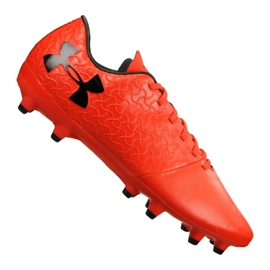 Under Armour Under Armor Magnetico Select Fg M 3000115-600 football shoes orange red