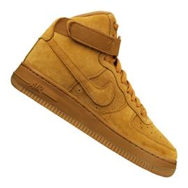 Nike Jr Air Force 1 High Lv 8 Gs Jr 807617-701 shoes yellow