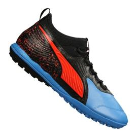 Puma One 19.3 Lth Tt Tr M 105489-01 football boots black